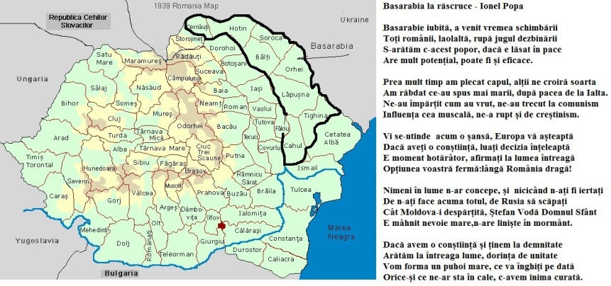 Ionel Popa-Basarabia la rascruce
